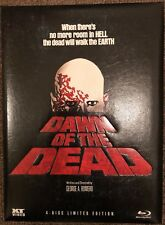 DAWN OF THE DEAD Blu Ray 4 Disc, LIMITED to 666 MEDIABOOK , ALL 4 VERSIONS