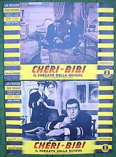 Chéri Bibi Il forzato della Guiana Fotobusta Poster Affiche PAGLIERO SAILOR NAVY