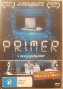 PRIMER PAL DELETED DVD RARE CULT SCIENCE FICTION THRILLER - A SHANE CARRUTH FILM