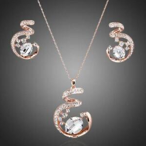 Personalised Gift For Her ROSE GOLD JEWELRY SET KHAISTA