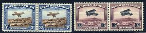 SOUTH WEST AFRICA KG V 1931 Air Mail Set Bilingual Pairs SG 86 & SG 87 MINT
