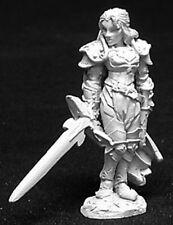 Reaper Miniatures Alaine, Female Paladin #02725 Dark Heaven Unpainted Metal