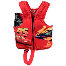 Disney Cars 3 Lightning McQueen Kids Swimvest Toddler Water Safety Life Jacket