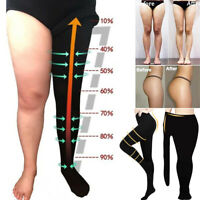 2 SIZE DOWN COMPRESSION PANTYHOSE WOMEN BEAUTY LEGS SHAPER PANTS SLIM STOCKINGS