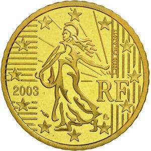 ► RARE ! PIECE 10 CENT BU FRANCE 2003 ISSUE DU COFFRET ! FDC UNC 100% NEUVE ! ◄◄
