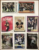 Drew Brees New Orleans Saints Score & Donruss  Football Card Lot