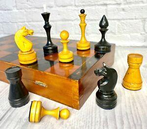 Wooden Chess USSR Full Set Grossmeister.Tournament King-10cm, Board 40cm x40 cm