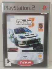 PS2 World Rally Championship 3 Platinum * COMPLETE * Playstation 2 PAL 2 WRC 3