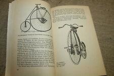 Buch historische Fahrradtechnik, Militärrad, Hochrad, Klapprad, Fahrrad,DDR 1987