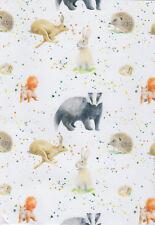 British Wildlife Gift Wrap Single Sheet Wrapping Paper 50 X 70cm