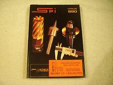 Spi Catalog 890 Your Partner in Precision Illustrated 1989 VGC 121-2J