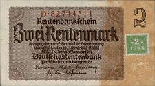 Ro.331b 2 Rentenmark 1948 Kuponausgabe