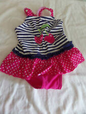 Polyamide Spotted One-Piece Swimwear (0-24 Months) for Girls