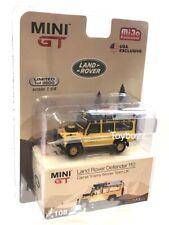 Mini Gt Mijo Exclusive Land Rover Defender 110 Camel Trophy Winner 1989
