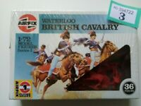 (3,REF) Airfix 1/72 OO scale Waterloo British Cavalry in shrink wrap from 90's