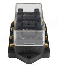 4-WAY ATO/ATC BLADE FUSE HOLDER BOX CAR VEHICLE CIRCUIT