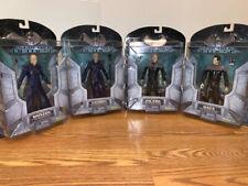 Star Trek Nemesis Action Figures Art Asylum Picard Shinzon Data Viceroy Lot of 4