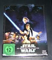 Star Wars La Ritorno Il Jedi Cavaliere Doppio blu ray Limitata steelbook Nuovo