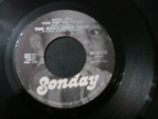 THE GENTLEMEN FOUR UNTIL IT'S TIME FOR YOU TO GO 45 RECORD I DON'T WANT NOBODY