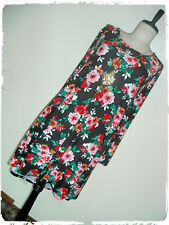 Pinc Floral Artistic Watercolor Fit N Flare Skate Dress & Necklace 3X