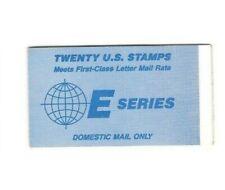 USA MARKENHEFTCHEN  20 Marken  E-Series