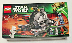 SEALED MINT NEW UNOPENED LEGO Star Wars 75015 Corporate Alliance Tank Droid Set