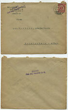 11588 - Beleg - Wilhelm Lange / BAHAG A.G. - Karlsruhe 31.1.1924