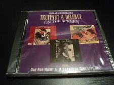 "CD NEUF BOF ""FRANCOIS TRUFFAUT & GEORGES DELERUE"""