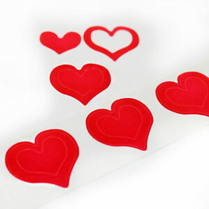 3 WAY HEARTS - 100 Pack - Spraytan Tanning Bed Stickers