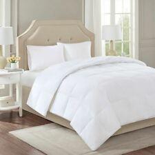Luxury LEVEL 2 - White 300 Thread Count Cotton Sateen Down Comforter