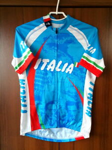 Cycling Jersey Italia Italy Specialized Full zip Vintage size M 51cm