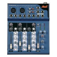 Strike4 AVE 4-Channel PA Mixer with Delay