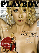 Playboy Mai/05/2007   KARINA KRAUSHAAR & ANJA HOLLANDS