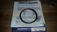 SRD 350 wall .158 8 Ramco Piston Ring Groove Lock Spacers Dia: 3.50 3 1//2