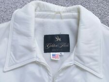 vintage Golden Fleece Outerwear Spiewak nylon full zip duty jacket white mens L