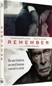 DVD - REMEMBER / CHRISTOPHER PLUMMER, MARTIN LANDAU, VO.ST, NEUF