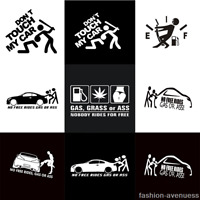4 Styles Funny Car Sticker For Auto Vehicle Window Vinyl Decal Waterproof Decor