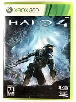FREE SHIPPING🔥 Halo 4 (Xbox 360, 2012) No Manual - 2 Disc Set both included!