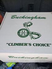 Buckingham Lineman Climbing Climbers 4 D Ring Body Belt Size 29 32 20192cm