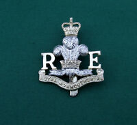 Anodised The Royal Monmouthshire Royal Engineers ~ British Army Cap Badge {NL23}