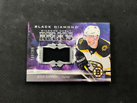 2018-19 UD BLACK DIAMOND RYAN DONATO ROOKIE DEBUT RELICS JERSEY #ed 299/299