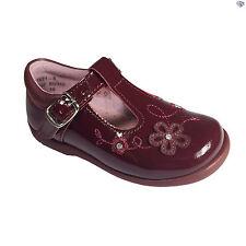 Startrite Sunflower Girls Wine Patent Winter Casual Shoes Size UK 3 - 8.5 E F G