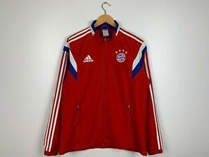 Men's Adidas Bayern Munich Jacket Windbreaker Size M