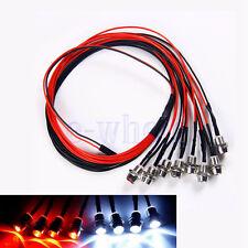 8 LED 5mm Licht Set Scheinwerfer-Rücklicht Für HSP RC Auto DL