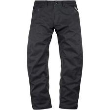 Pantalones sobrepantalóns color principal negro para motoristas