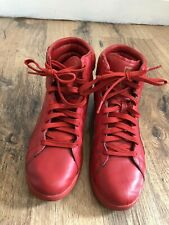 Puma First Round Red High Top Trainers UK Size 6.5