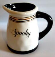 Terramoto Halloween SPOOKY Ceramic Pitcher 64 oz. - NWT