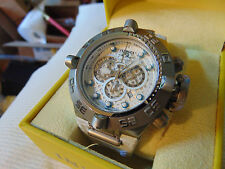 "Invicta Reserve 50mm Subaqua Noma IV ""Swiss Made"" Chronograph SS Watch L@@K!!!"