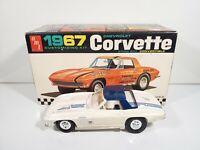 AMT Vintage 1:25 Scale 1967 Chevrolet Corvette Gene Winfield Custom Parts BUILT