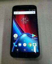 Motorola Moto G4 Plus 32GB(XT1641)- Black - GSM Unlocked- Fully Functional